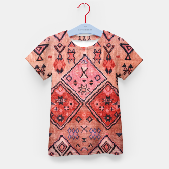 Thumbnail image of Vintage Oriental Traditional Moroccan Style Artwork Kid's t-shirt, Live Heroes