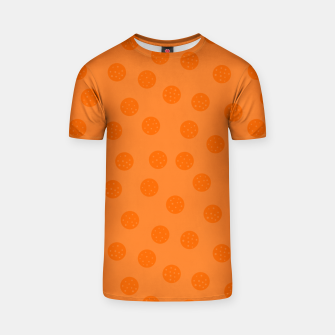 Thumbnail image of Dots With Points Orange T-shirt, Live Heroes