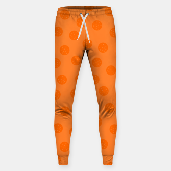 Thumbnail image of Dots With Points Orange Sweatpants, Live Heroes