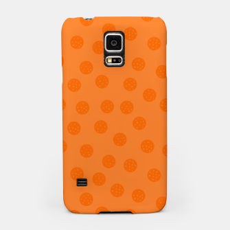 Thumbnail image of Dots With Points Orange Samsung Case, Live Heroes