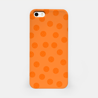 Thumbnail image of Dots With Points Orange iPhone Case, Live Heroes
