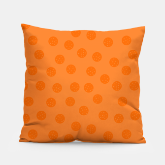 Thumbnail image of Dots With Points Orange Pillow, Live Heroes