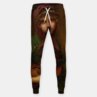 The Young Violin Player by Francois Martin-Kavel Sweatpants thumbnail image