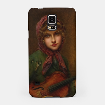 Thumbnail image of The Young Violin Player by Francois Martin-Kavel Samsung Case, Live Heroes