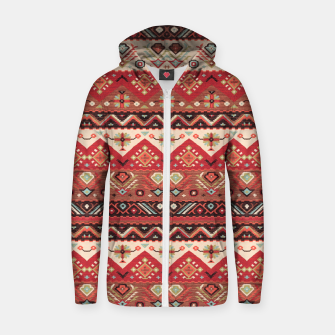Thumbnail image of Bohemian Traditional Moroccan Style  Zip up hoodie, Live Heroes