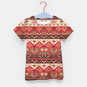 Thumbnail image of Bohemian Traditional Moroccan Style  Kid's t-shirt, Live Heroes