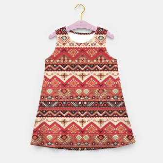 Thumbnail image of Bohemian Traditional Moroccan Style  Girl's summer dress, Live Heroes