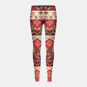 Thumbnail image of Bohemian Traditional Moroccan Style  Girl's leggings, Live Heroes