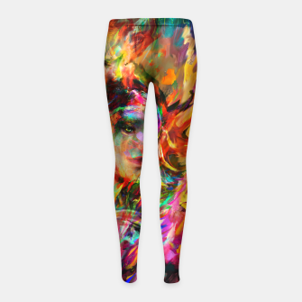 spring Girl's leggings obraz miniatury