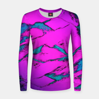 Thumbnail image of Fractured anger pink Women sweater, Live Heroes