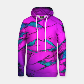 Thumbnail image of Fractured anger pink Hoodie, Live Heroes