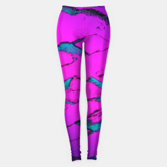 Thumbnail image of Fractured anger pink Leggings, Live Heroes