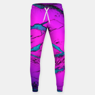 Thumbnail image of Fractured anger pink Sweatpants, Live Heroes