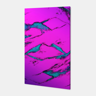 Thumbnail image of Fractured anger pink Canvas, Live Heroes