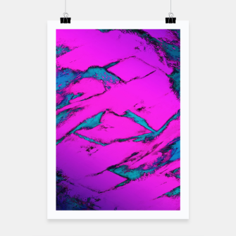 Thumbnail image of Fractured anger pink Poster, Live Heroes