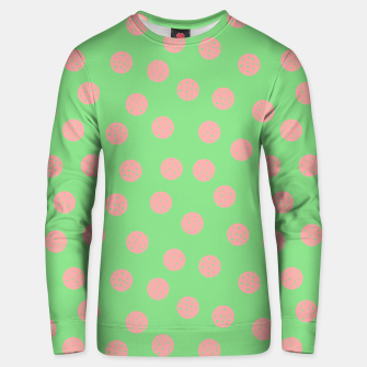 Miniatur Dots With Points Spring Meadow Unisex sweater, Live Heroes