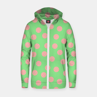 Miniatur Dots With Points Spring Meadow Zip up hoodie, Live Heroes