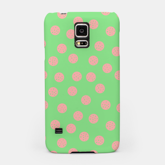 Miniatur Dots With Points Spring Meadow Samsung Case, Live Heroes