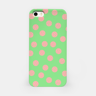Miniatur Dots With Points Spring Meadow iPhone Case, Live Heroes
