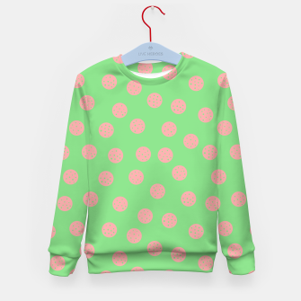 Miniatur Dots With Points Spring Meadow Kid's sweater, Live Heroes