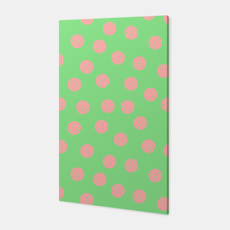Miniatur Dots With Points Spring Meadow Canvas, Live Heroes