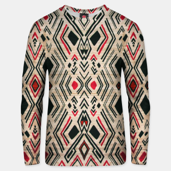 Miniatur Boho Style Traditional Moroccan Design Unisex sweater, Live Heroes
