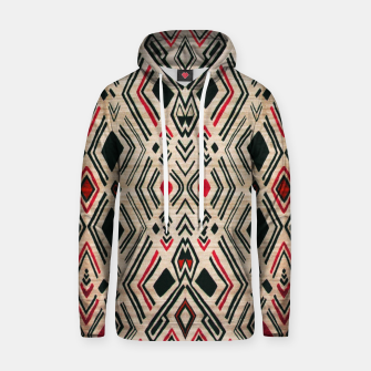 Miniatur Boho Style Traditional Moroccan Design Hoodie, Live Heroes