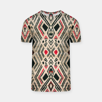 Miniatur Boho Style Traditional Moroccan Design T-shirt, Live Heroes