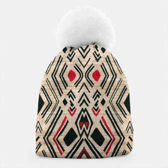 Miniatur Boho Style Traditional Moroccan Design Beanie, Live Heroes