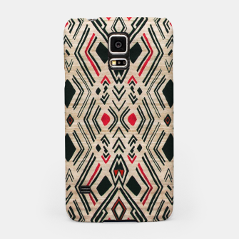 Miniatur Boho Style Traditional Moroccan Design Samsung Case, Live Heroes