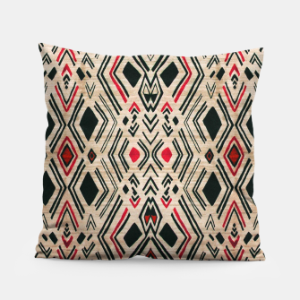 Miniatur Boho Style Traditional Moroccan Design Pillow, Live Heroes