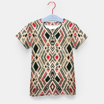 Miniatur Boho Style Traditional Moroccan Design Kid's t-shirt, Live Heroes