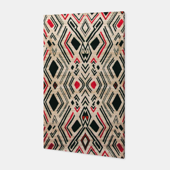 Miniatur Boho Style Traditional Moroccan Design Canvas, Live Heroes