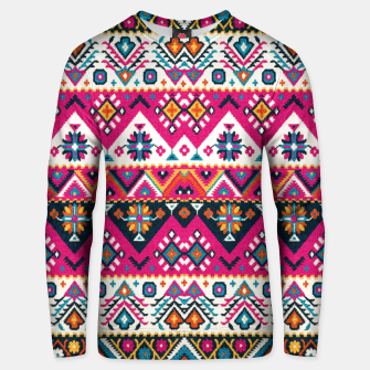 Thumbnail image of Colored Floral Traditional Moroccan Boho Oriental Style Unisex sweater, Live Heroes