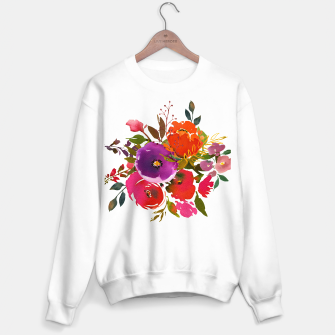flowers2 Sweater regular obraz miniatury