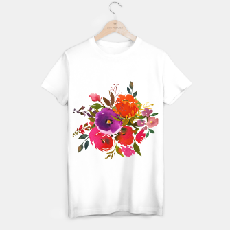 flowers2 T-shirt regular obraz miniatury