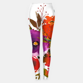 flowers2 Leggings obraz miniatury