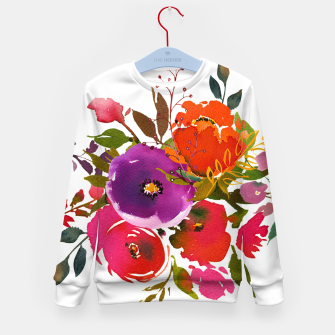 flowers2 Kid's sweater obraz miniatury