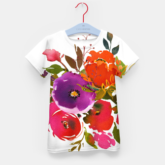 flowers2 Kid's t-shirt obraz miniatury
