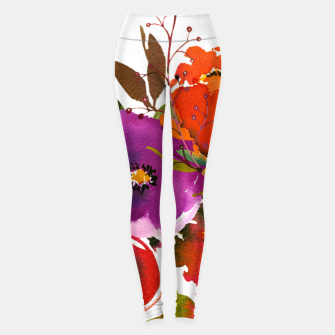 Miniatur flowers2 Leggings, Live Heroes