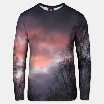 Dark sunset Unisex sweater Bild der Miniatur