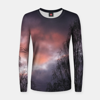Dark sunset Women sweater Bild der Miniatur