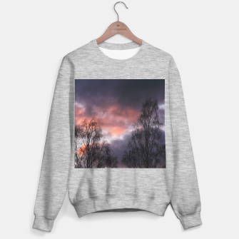 Dark sunset Sweater regular Bild der Miniatur