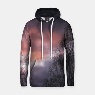 Thumbnail image of Dark sunset Hoodie, Live Heroes