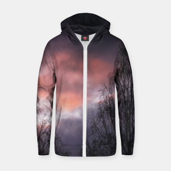 Dark sunset Zip up hoodie Bild der Miniatur