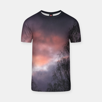 Dark sunset T-shirt Bild der Miniatur