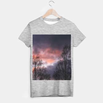 Thumbnail image of Dark sunset T-shirt regular, Live Heroes