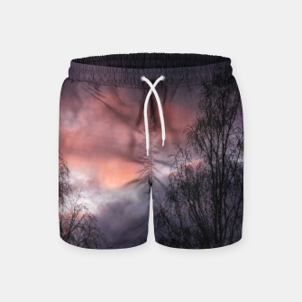 Dark sunset Swim Shorts Bild der Miniatur