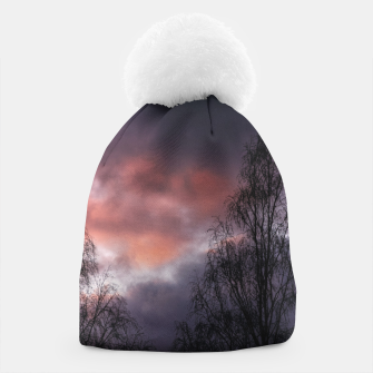 Thumbnail image of Dark sunset Beanie, Live Heroes