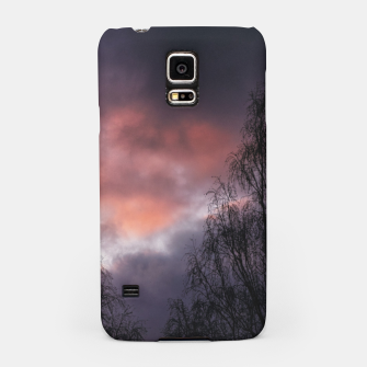 Dark sunset Samsung Case Bild der Miniatur